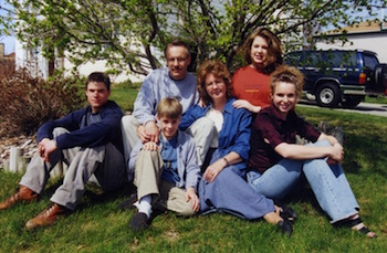 Bob Whitson & Family, Summer of 2000